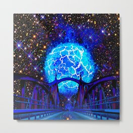 NEBULA BRIDGE TO THE UNIVERSE Metal Print