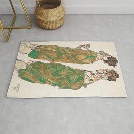 Egon Schiele - Devotion Rug