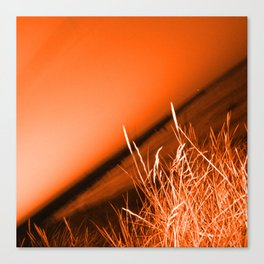 Sunrise over Southwald UK beach Canvas Print