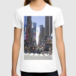 New York City Street Crossing T-shirt