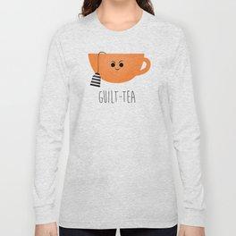 Guilt-tea Long Sleeve T-shirt