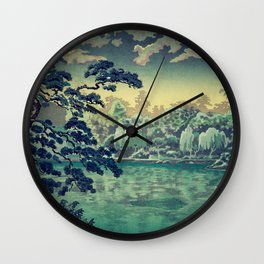 At Yasa Bay Wall Clock