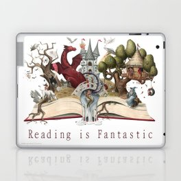 Reading is Fantastic Laptop & iPad Skin