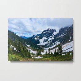 North Cascades valley Metal Print