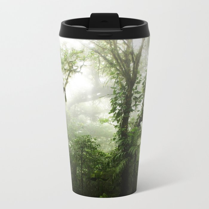 Cloud Forest Metal Travel Mug