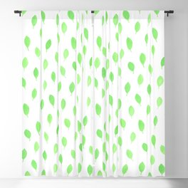 Floating Leaves Blackout Curtain