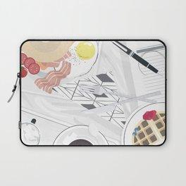 Breakfast in Bed (New York) Laptop Sleeve