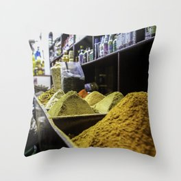 Arabian Spices Throw Pillow