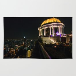 Sky Bar, Lebua Tower, Bangkok, Thailand Rug