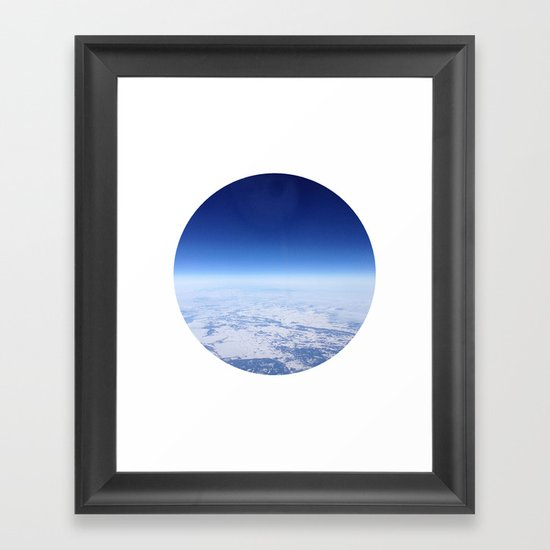 Telescope 12 space Framed Art Print