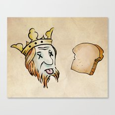 Obtuse Rebus With Regicide Canvas Print
