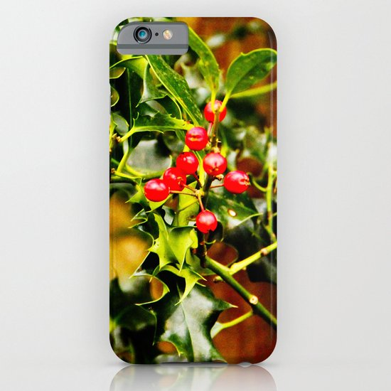 Winter Holly iPhone & iPod Case