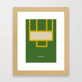 Kick-Ass Framed Art Print