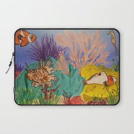 Circus Under the Sea Laptop Sleeve