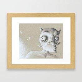 Devil Elf Framed Art Print