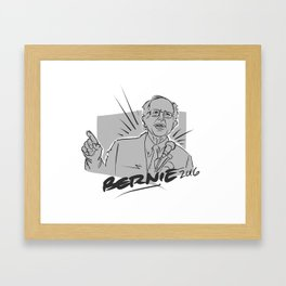 Bernie Framed Art Print