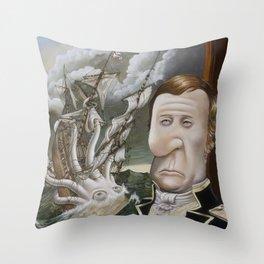 Alexander's Leviathan Throw Pillow