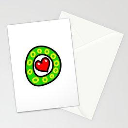 Uppercase Doodle Letter O Stationery Cards