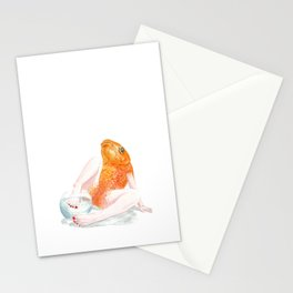 Undomesticated // Goldie Stationery Cards