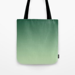 Green Ombre Tote Bag