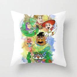 Disney Pixar Play Parade - Toy Story Unit Throw Pillow