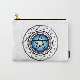 Glowing Pentagram Carry-All Pouch