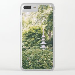 Come Find Me Clear iPhone Case