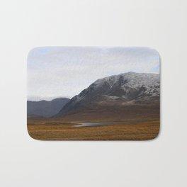 Alaska Range in Autumn Bath Mat