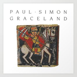 paul simon Art Print