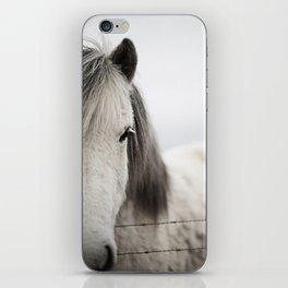 Icelandic White iPhone Skin