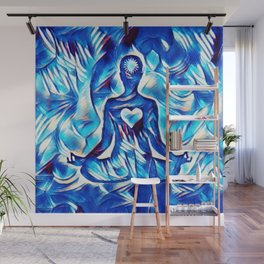 Meditation with Love and Light Wall Mural