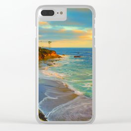 Laguna Beach California Clear iPhone Case