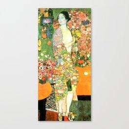 """Gustav Klimt """"Die Tänzerin (vorher Ria Munk II)(The Dancer (formerly Ria Munk II))"""" Canvas Print"""