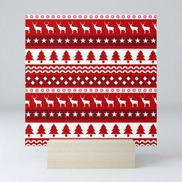 Christmas Pattern Mini Art Print