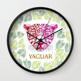 Yaguar Wall Clock