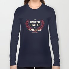 The United States of America Long Sleeve T-shirt