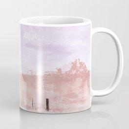 The Lone Horse In The San Rafael Valley Of Arizona Coffee Mug