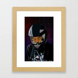 American boyfriend Framed Art Print