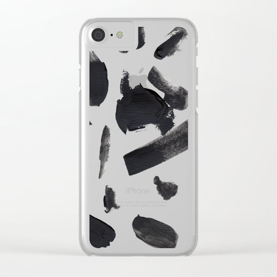 Space A Clear iPhone Case