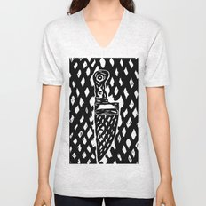 What a sexy knife! Unisex V-Neck
