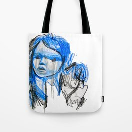 plastic girl Tote Bag