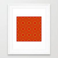 arabic Framed Art Prints featuring Arabic  by Barbo's Art