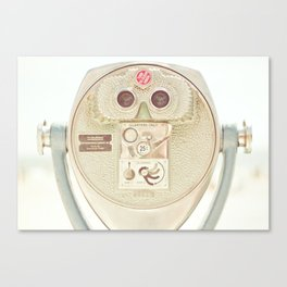Beach Binoculars Canvas Print