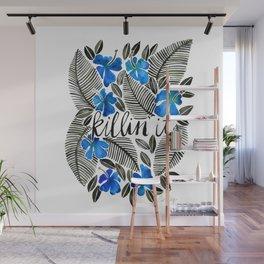 Killin' It – Tropical Blue Wall Mural
