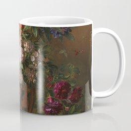 Georgius Jacobus Johannes van Os - Still life with flowers in a Greek vase - 1817 Coffee Mug