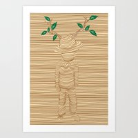 earth keeper Art Print