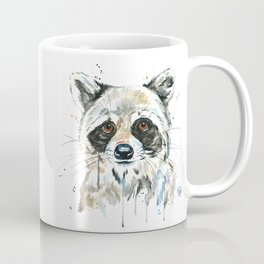 Peekaboo Raccoon Coffee Mug