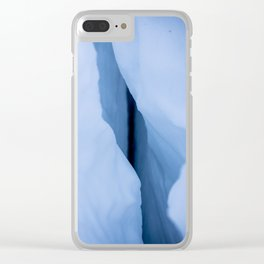 Lassen Ice Caves Clear iPhone Case