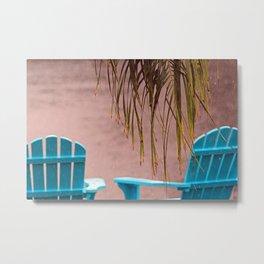 Tropical Rain Metal Print