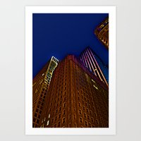 """""""And when you look up, look wide"""" Art Print"""